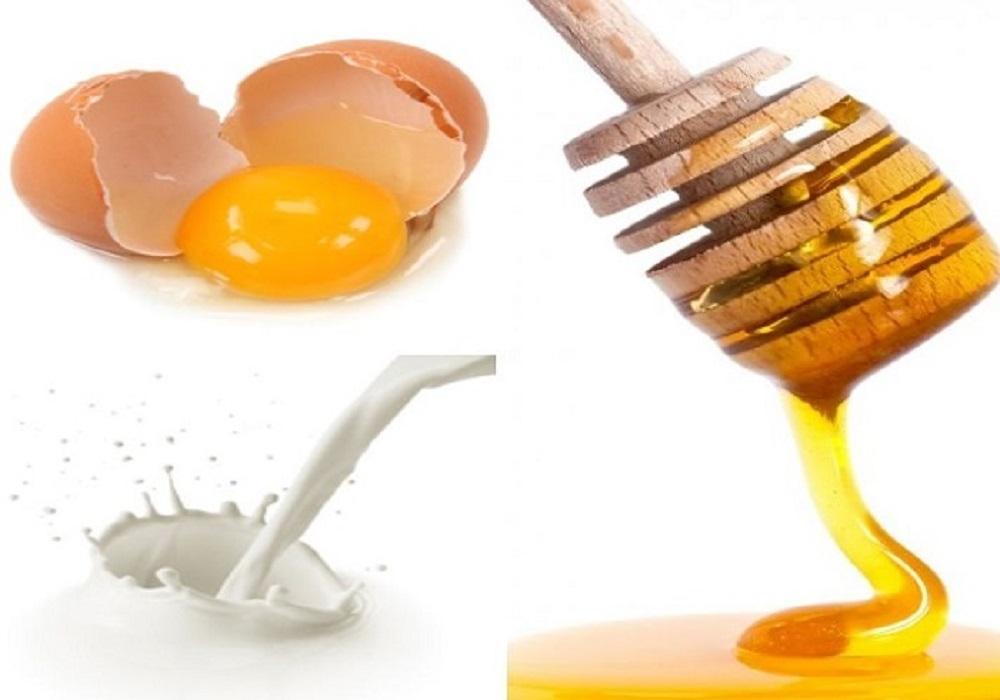 ماسک تخم مرغ وعسل