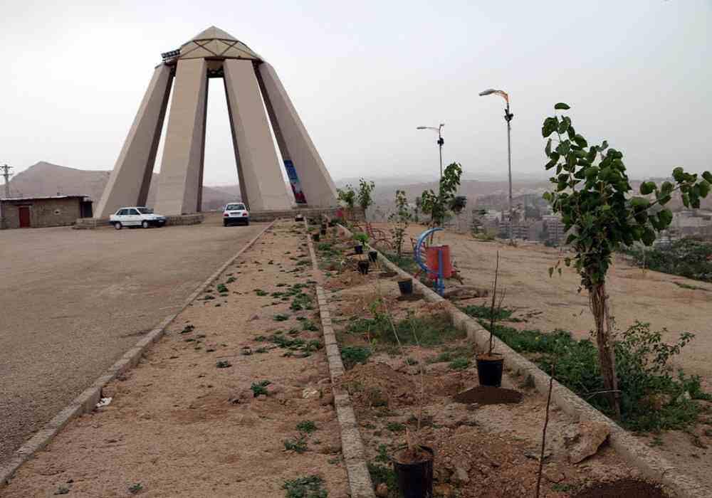 تپه شهدای گمنام مسجدسلیمان