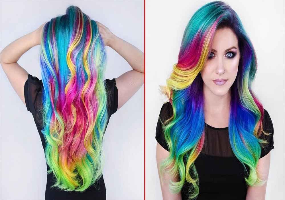 رنگ کردن موباموادشیمیایی باعث خشک شدن مو وموخوره می شود