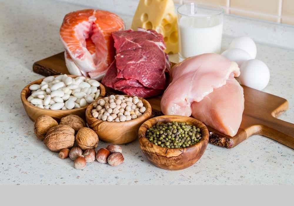 مواد غذایی پروتئین دار به بدن درساخت کلاژن کمک میکند