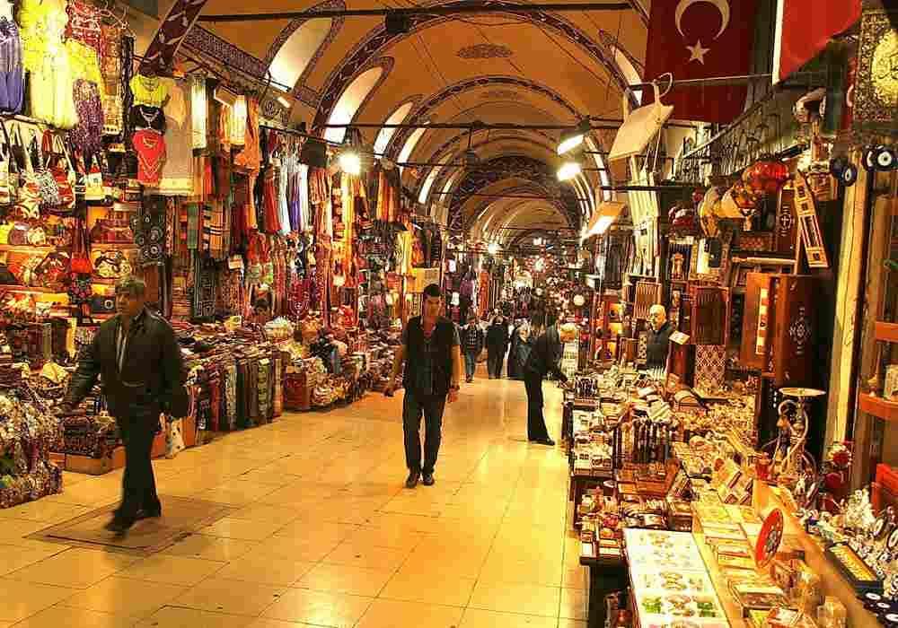 بازار بزرگ استانبول بزرگترین بازار سرپوشیده جهان است
