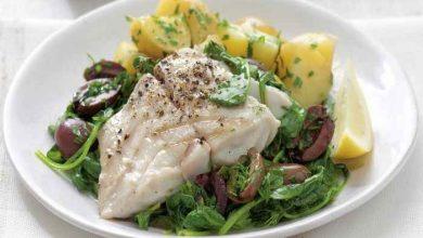 طرز تهیه خوراک ماهی بااسفناج