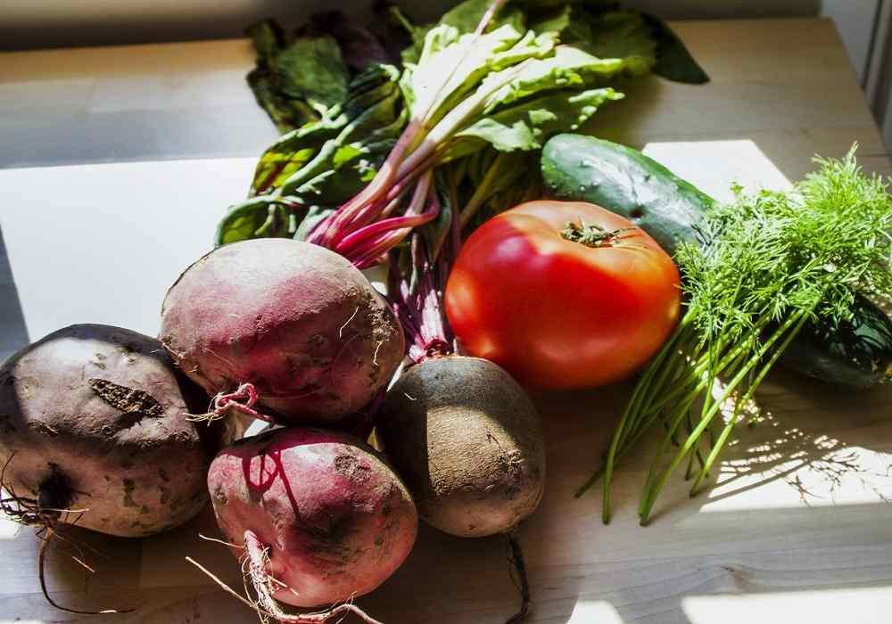 مصرف چغندر و هویج و گوجه در ماه ششم توصیه می شود