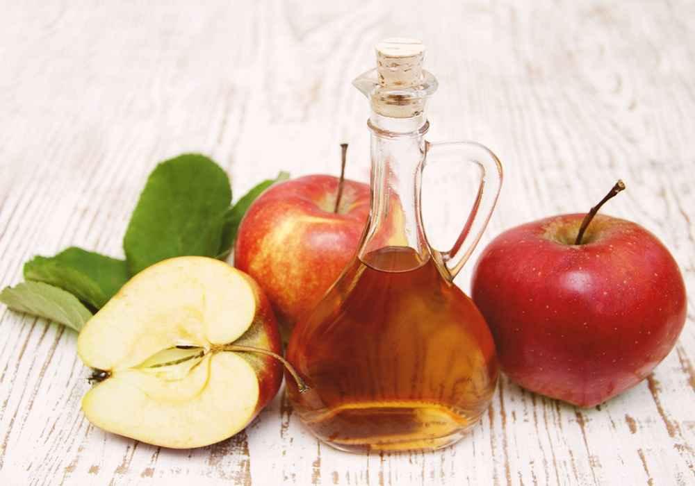 سرکه سیب یک روش خانگی برای درمان کهیر است