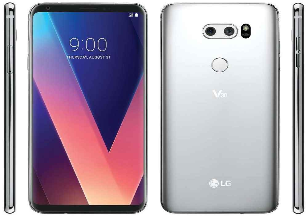 مشخصات فنی گوشی LG V30