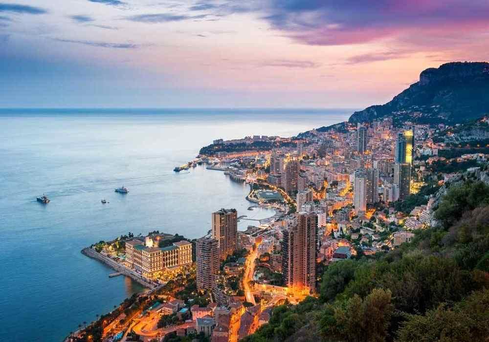 موناکو در بین کوچکترین کشورهای جهان دومین کشور کوچک جهان است