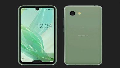 مشخصات فنی گوشی sharp Aquos R2 compact