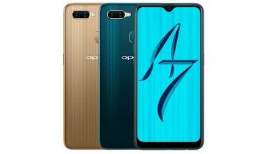 مشخصات فنی گوشی oppo A7