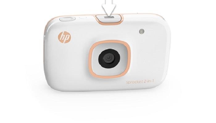 پرینتر hp sprocket 2-in-1 photo printer