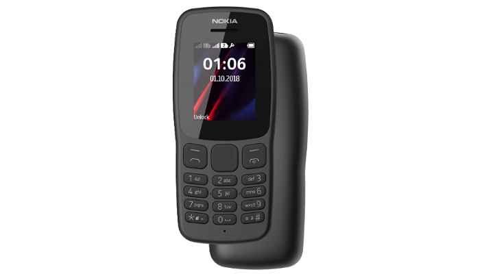 مشخصات فنی گوشی nokia 106 (2018)