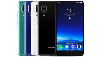 مشخصات فنی گوشی Sharp Aquos S2
