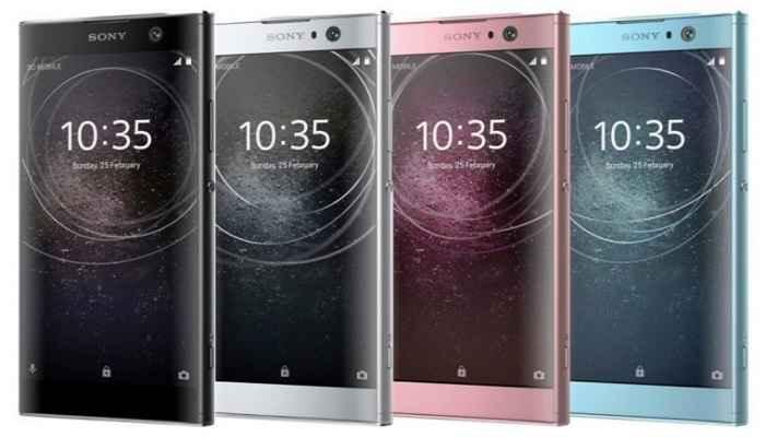 مشخصات فنی گوشی sony xperia XA2