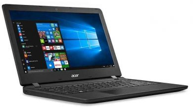 asemari.ir-لپ تاپ 13 اینچی ایسر مدل Aspire ES1-332-P0A9